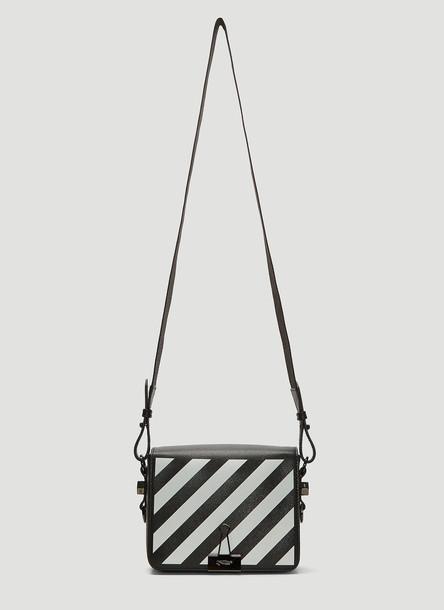 Off-White Diagonal Binder Shoulder Bag in Black size One Size