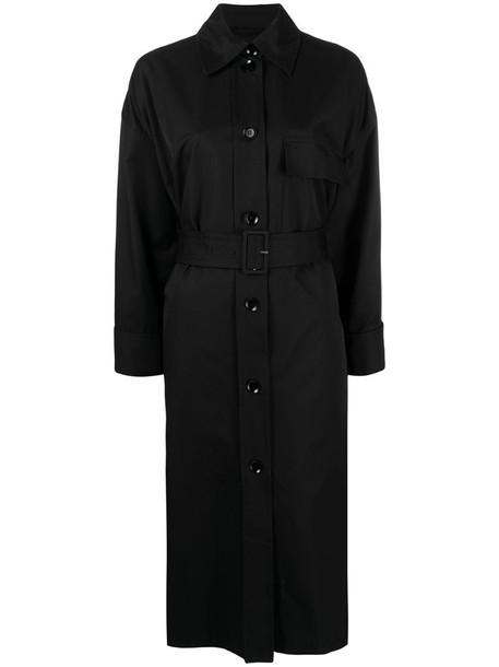 Christian Wijnants Caner trench coat in black