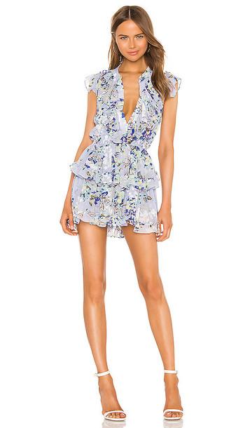 MISA Los Angeles Alona Dress in Purple