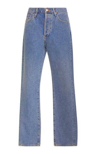 Goldsign Benefit High-Rise Straight-Leg Jeans Size: 26