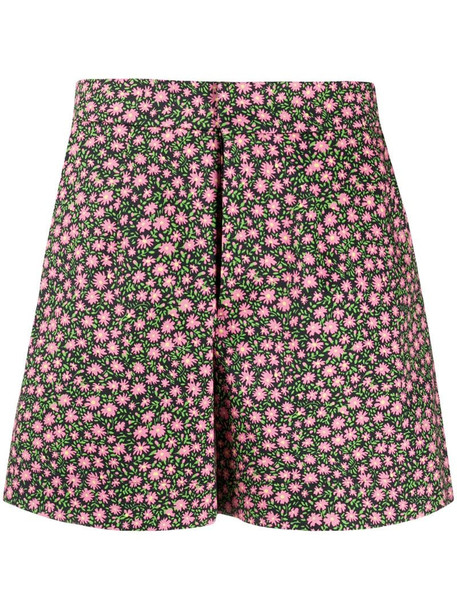 La Doublej Good Butt floral print shorts in pink
