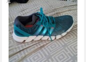 shoes,adidas shoes,grey's anatomy,amelia shepherd,adidas,running shoes,blue sneakers,teal
