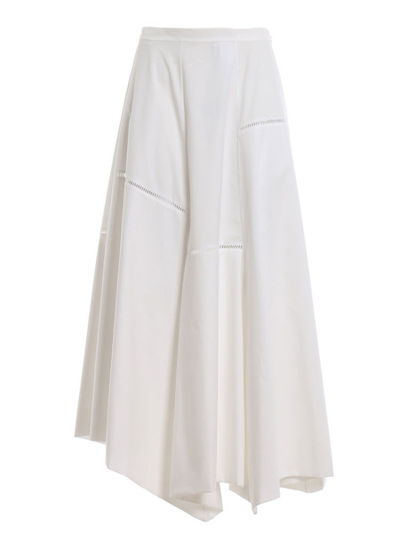 Loewe Balloon Skirt in white