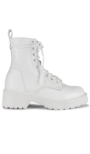 Steve Madden Tornado Boots in White