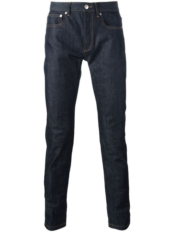 A.P.C. slim-fit jeans in blue