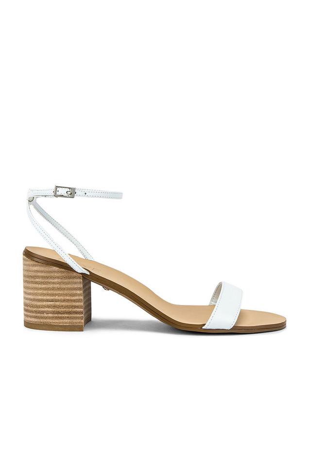 RAYE Indigo Heel in white