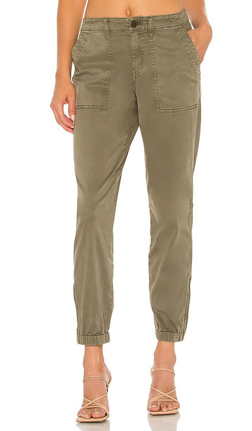 Sanctuary Peace Trooper Pant in Army in green
