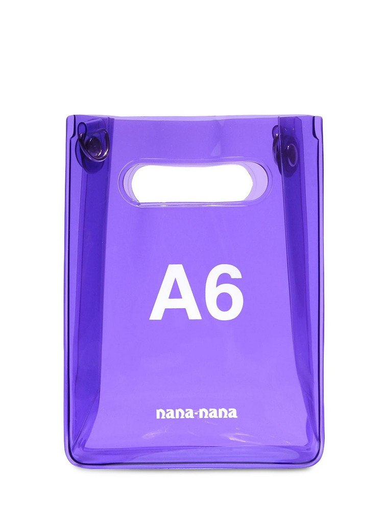 NANA NANA A6 Pvc Shopping Bag in purple