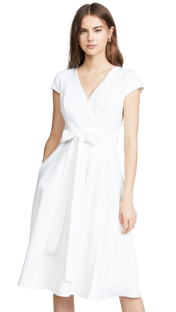 Black Halo Pandora Dress in white