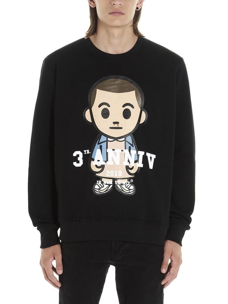 Ih Nom Uh Nit eleven Sweatshirt in black