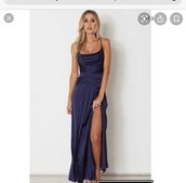 dress,navy dress,formal dress
