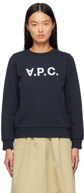 A.P.C. A.P.C. Navy Viva Sweatshirt