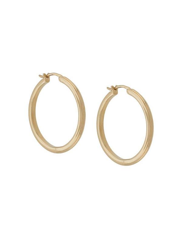 Astley Clarke medium Linia hoop earrings in gold