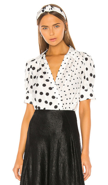 Tanya Taylor Angela Blouse in White