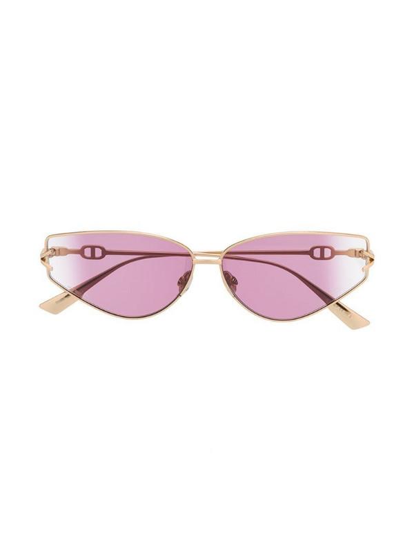 Dior Eyewear DiorGipsy2 cat-eye sunglasses in gold