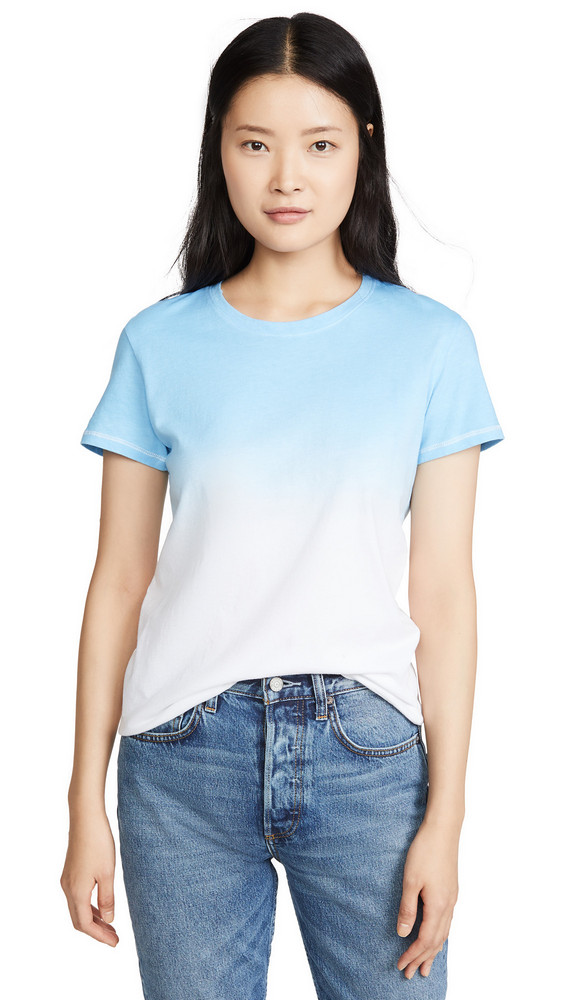 Prince Peter Ombre Tee in blue / white