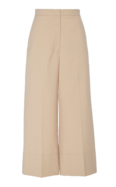 3.1 Phillip Lim Wide Cuff Pant Size: 00 in neutral