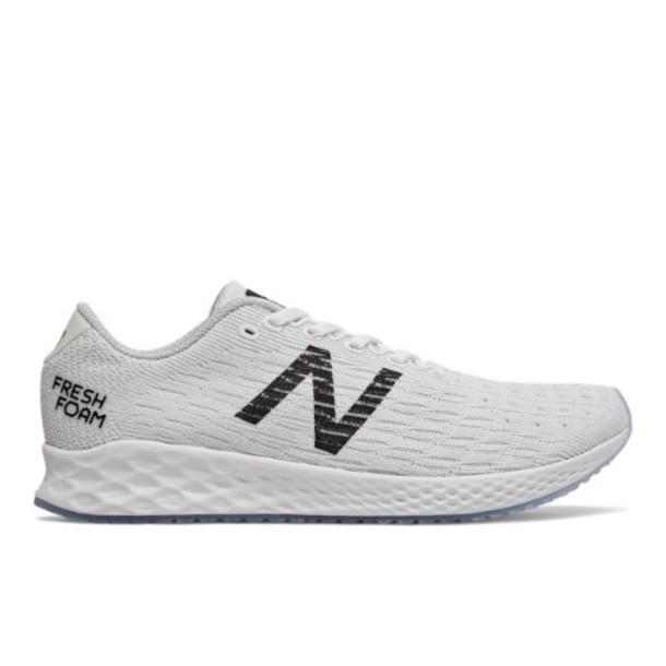 New Balance Fresh Foam Zante Pursuit Women's Neutral Cushioned Shoes - White/Grey/Black (WZANPFW)