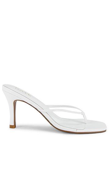 RAYE Corso Heel in White