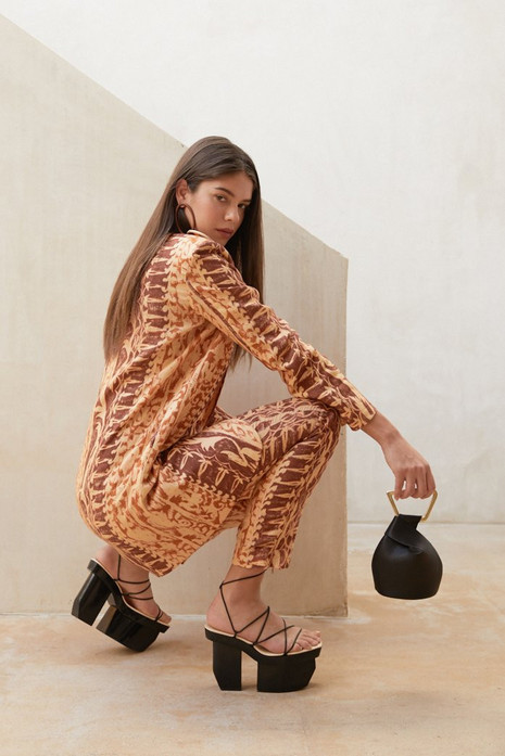 Cult Gaia Carine Pant - Spice Multi                                                                                               $398.00 USD