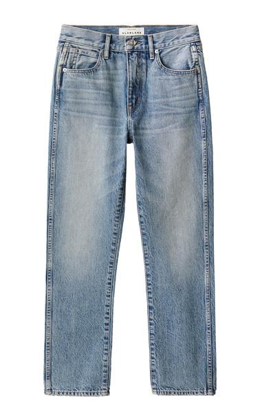 SLVRLAKE Riley Rigid High-Rise Straight-Leg Jeans