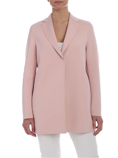Harris Wharf London - Overcoat in pink