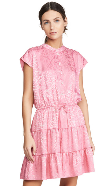 Rebecca Minkoff Ollie Dress in pink