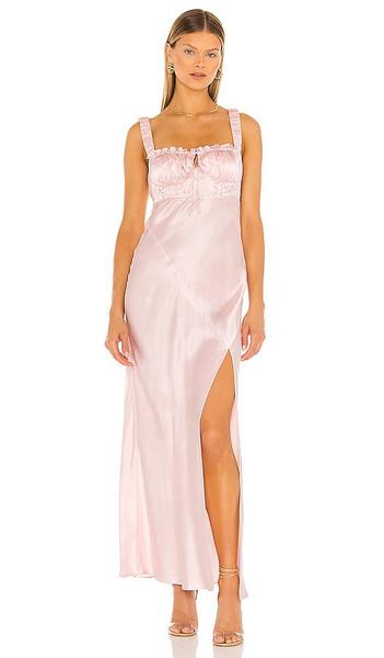 NICHOLAS Nina Dress in Blush in pink