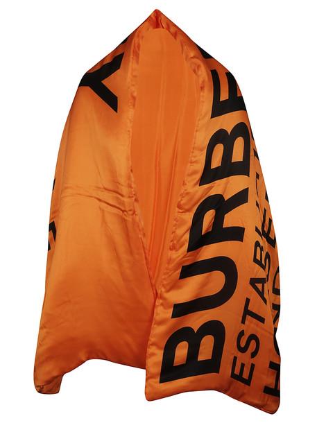 Burberry Logo Scarf in black / white