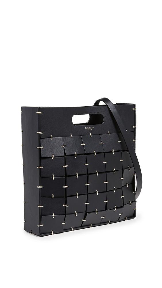 Kate Spade New York Celia Leather Large Top Handle Tote in black