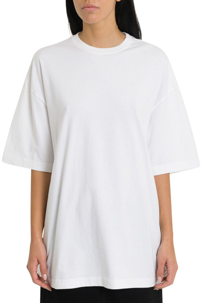 Balenciaga Oversized Tee With Gothic Logo To The Rear in bianco