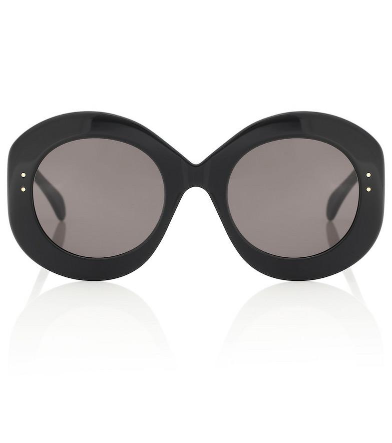 Alaïa Oval sunglasses in black