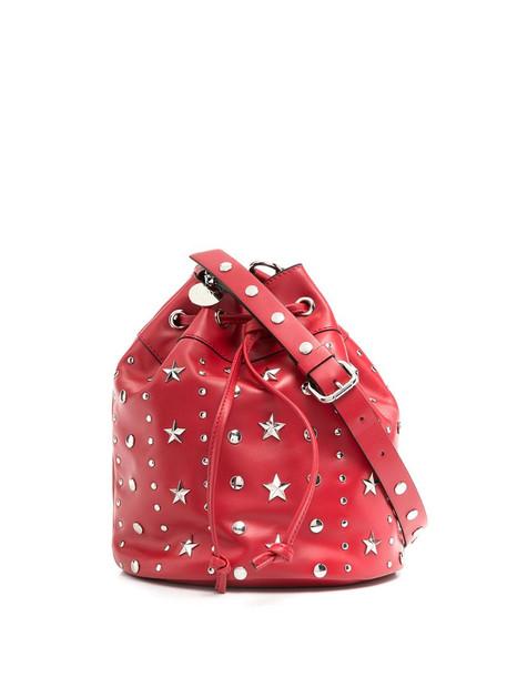 RedValentino RED(V) stud-embellished bucket bag