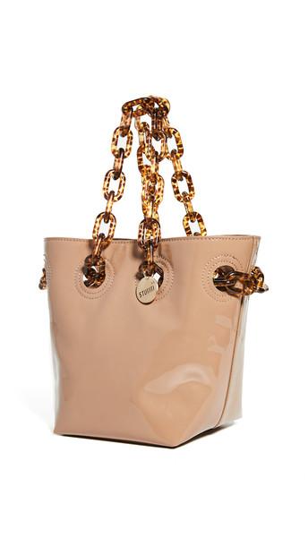 Studio 33 Woke Newbie Bucket Bag in beige