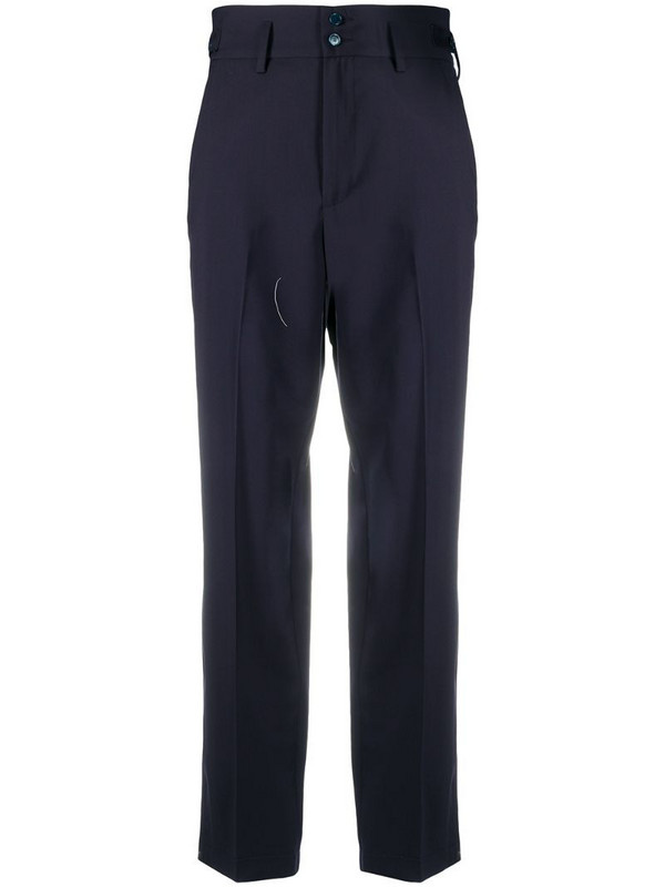 Barena cropped tailored trousers in blue