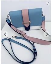 bag,Valentino,shoulder bag,blue