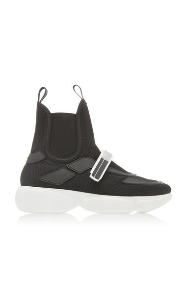 Prada Tronchetti Sneakers in black