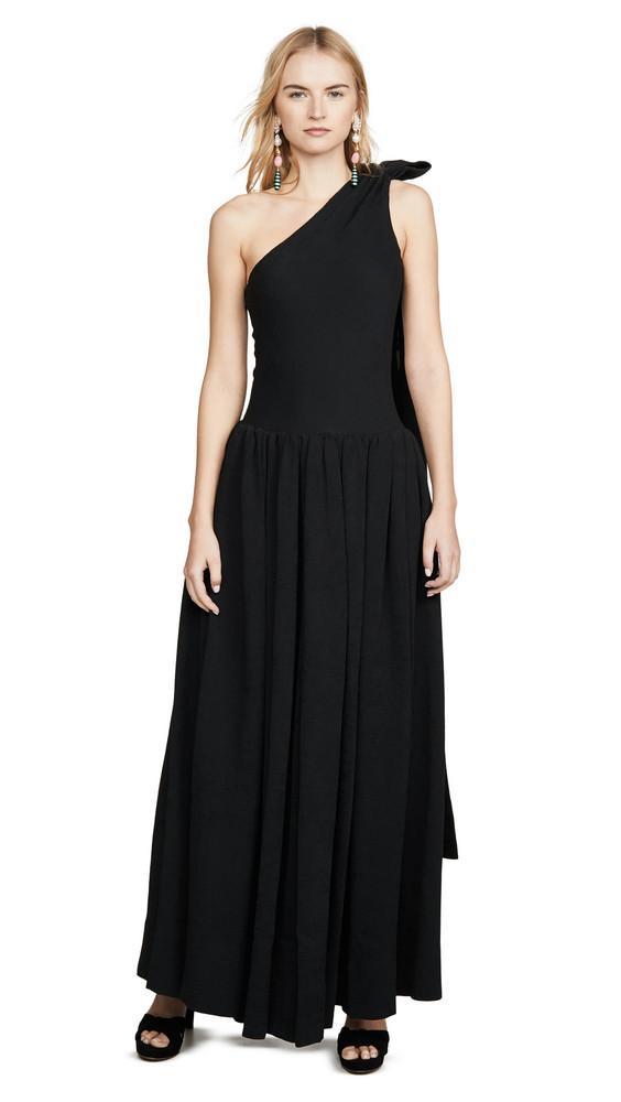 STAUD Sarah Dress in black