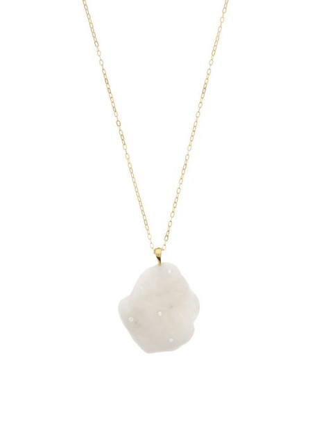 Cvc Stones - Cloudy Diamond & 18kt Gold Necklace - Womens - Gold