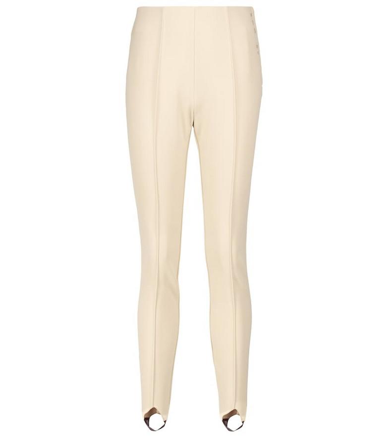 BOGNER Elaine softshell ski pants in white