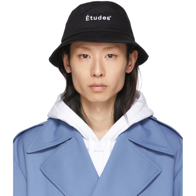 Études Études Black Training Bucket Hat