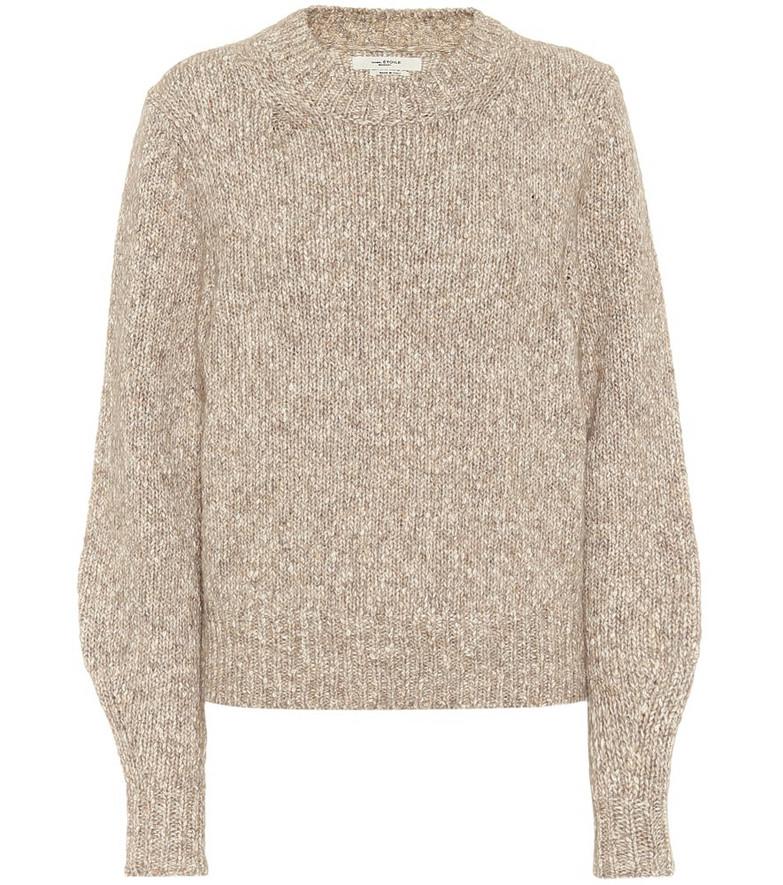 Isabel Marant, Étoile Ivah cotton-blend sweater in beige