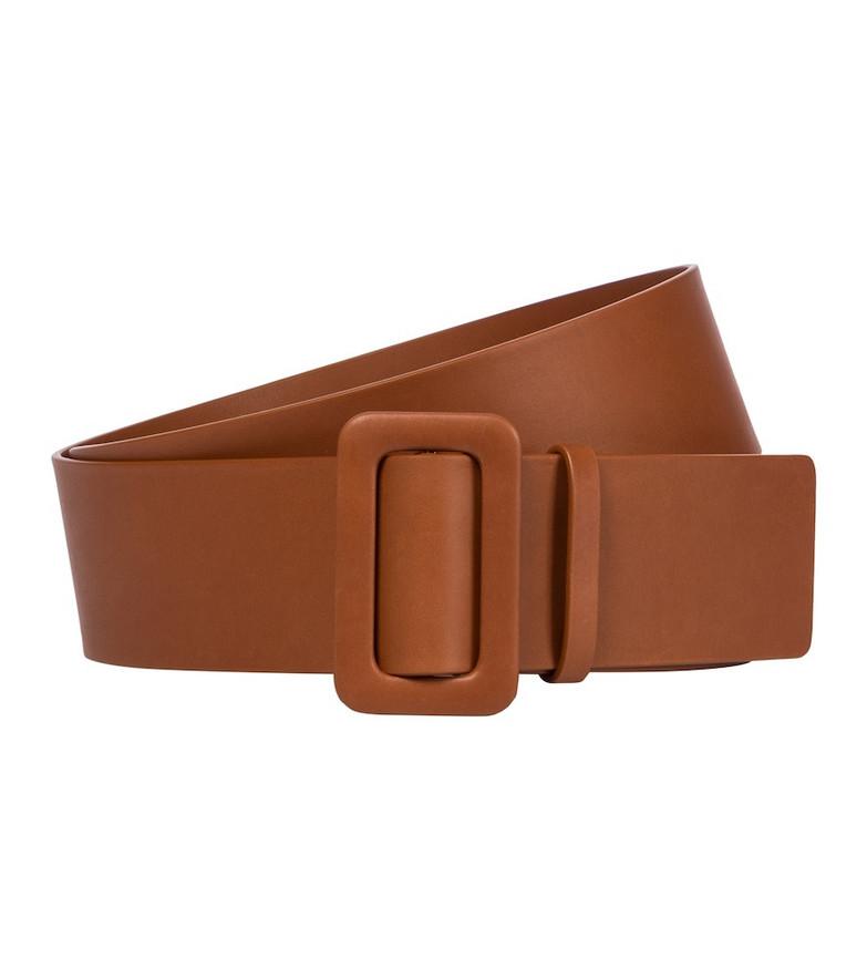 Jil Sander Leather belt in brown