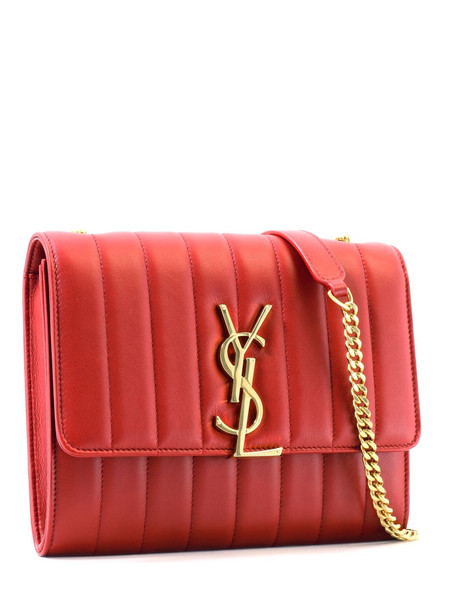 Saint Laurent Clutch Vicky Red