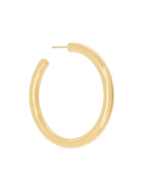 Maria Black Ruby 50 hoop earring in metallic