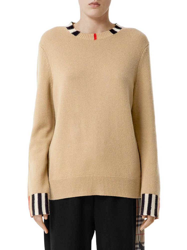 BURBERRY Cashmere Knit Sweater in beige