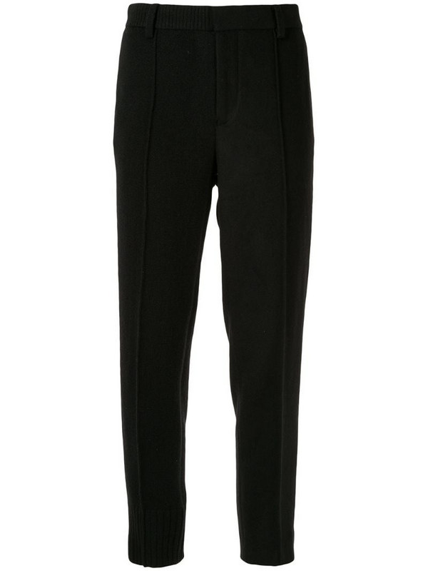 Undercover tailored fit trousers in black