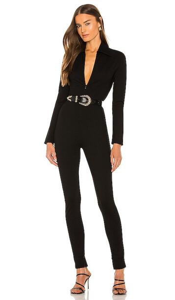 Ronny Kobo X REVOLVE Bailey Jumpsuit in Black