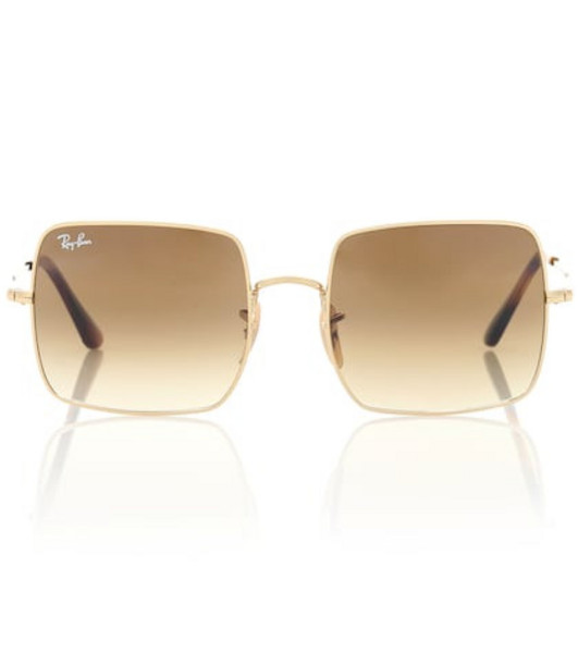 Ray-Ban RB1971 square sunglasses in brown