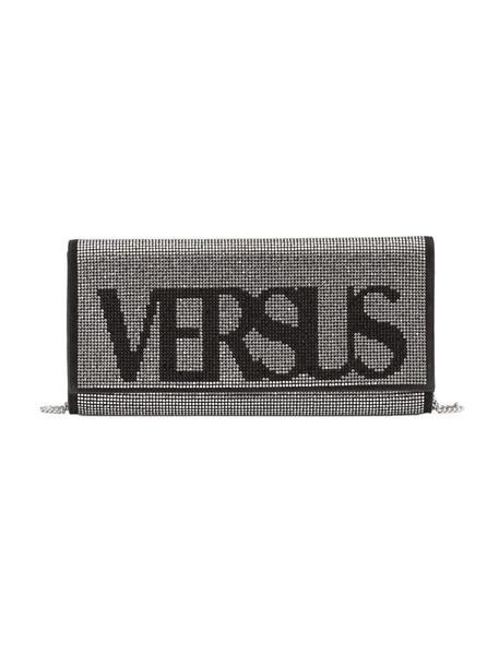 Versus Versace Versus Embellished Clutch in black